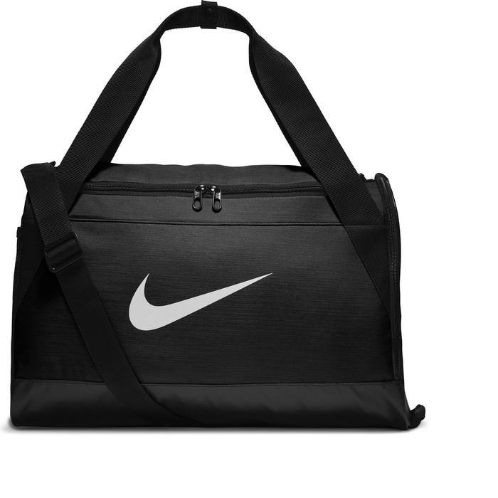 6f08cb2a6e4c6 Bolsa de deportes gimnasio Cardio Fitness Nike Brasilia negro Nike ...