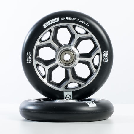 120 mm Wheel - Black