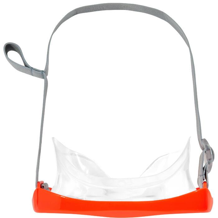 Duikbril SNK 500 voor snorkelen, kinderen en volwassenen fluorood - 1261969