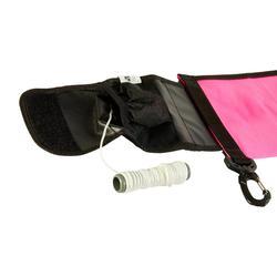 Parachute de signalisation de palier de plongée sous-marine SCD rose fluo