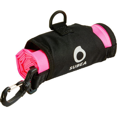 SCD SCUBA diving surface marker buoy neon pink