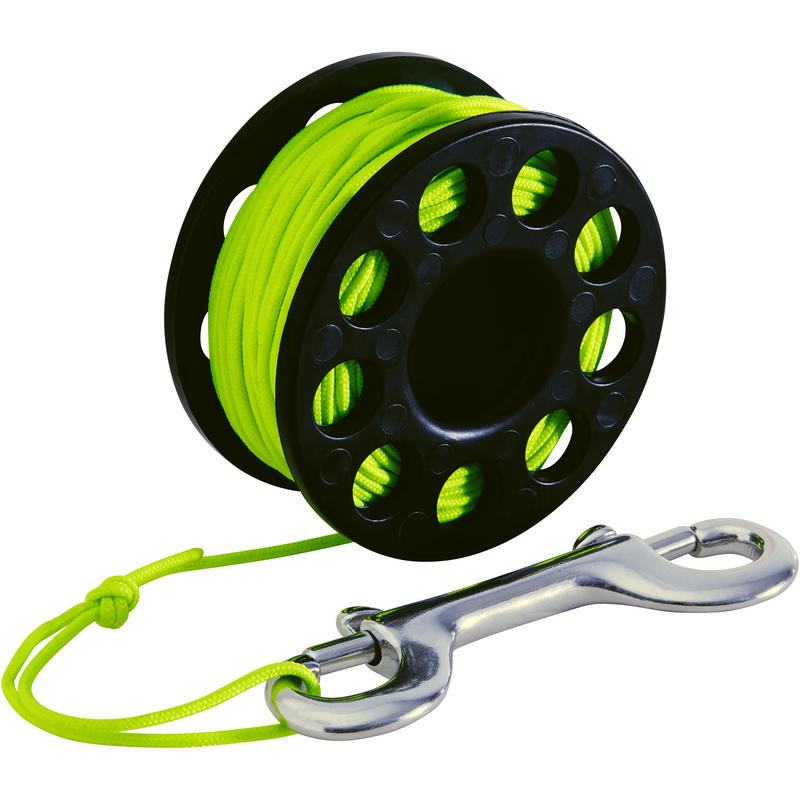SCD 20m Compact Spool SCUBA diving spool reel