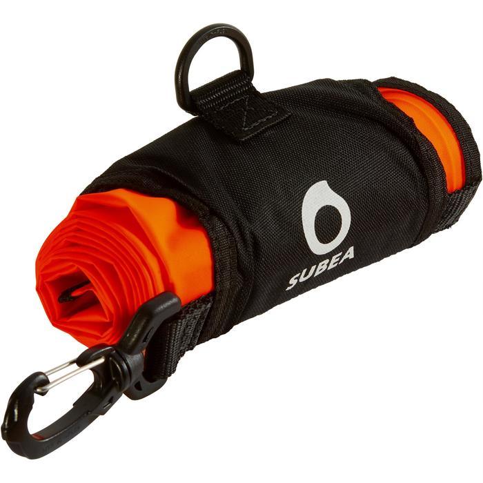 Parachute de signalisation de palier de plongée sous-marine SCD orange