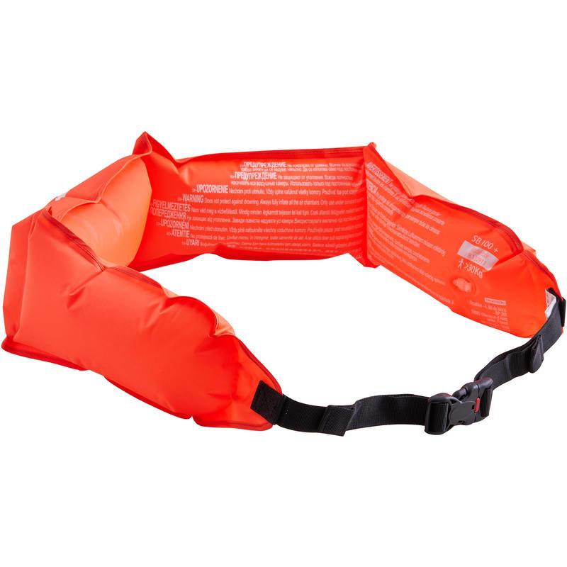 SNK 120 snorkelling float fluo orange