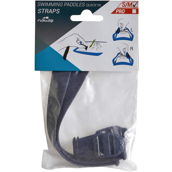 Set straps voor zwempaddles Quick'in S/M