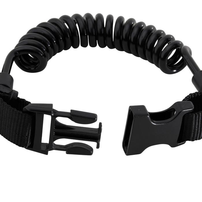 SCUBA diving spiral light holder clip with ring - 1262046