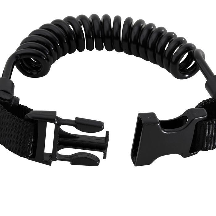 Tauch-Lampenhalter mit Spiralzug und Ring