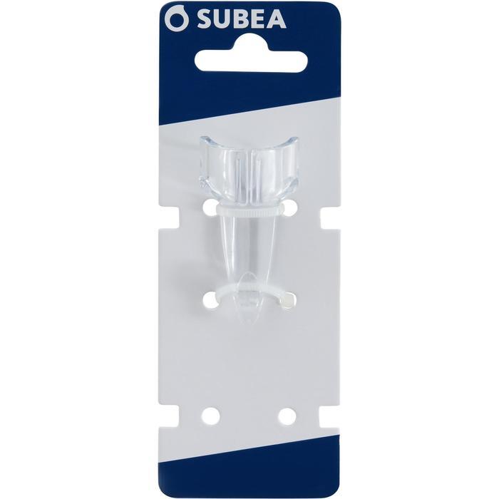 Accroche tuba de plongée compatible avec tous tubas ronds SCD