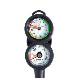 Duikconsole met druk- en dieptemeter SCD