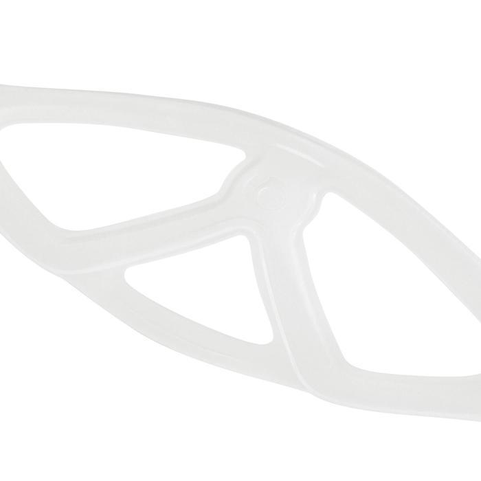 Maskenband Silikon für Tauchmaske transparent