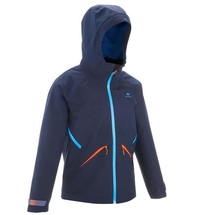 Veste de randonnée enfant Hike 900 bleue - 1262216