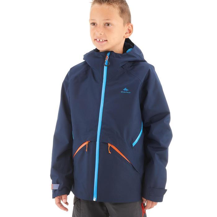 Veste de randonnée enfant Hike 900 bleue - 1262264