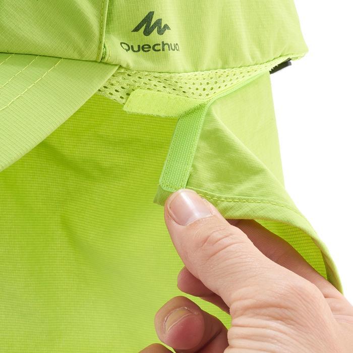 Schirmmütze Cap Hike 500 Kinder Jungen grün