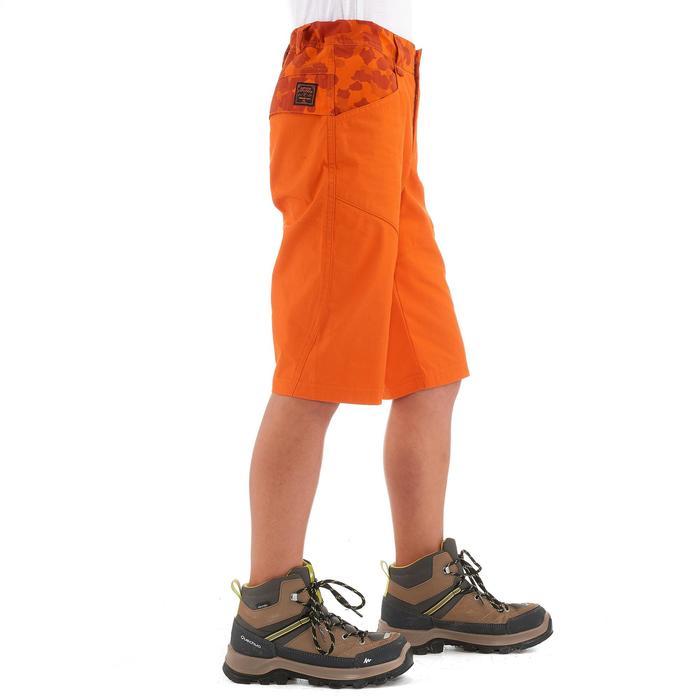 Short de senderismo júnior Hike 500 naranja