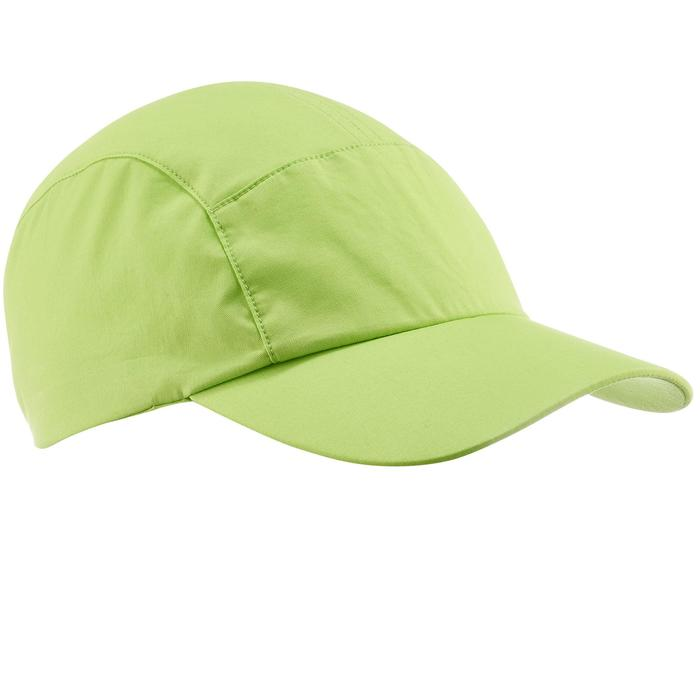 Gorra de senderismo niños Hike 500 verde
