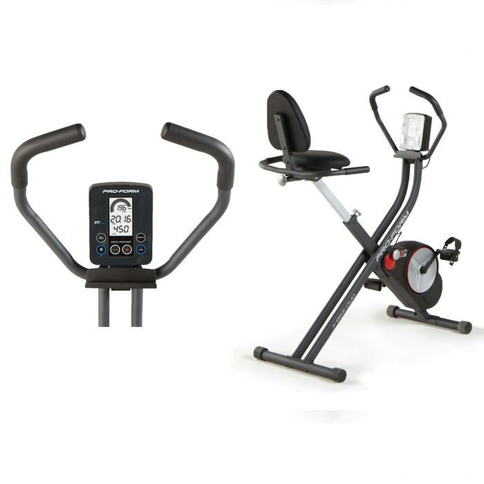 Hometrainer X-Bike Duo, vliegwiel van 3kg
