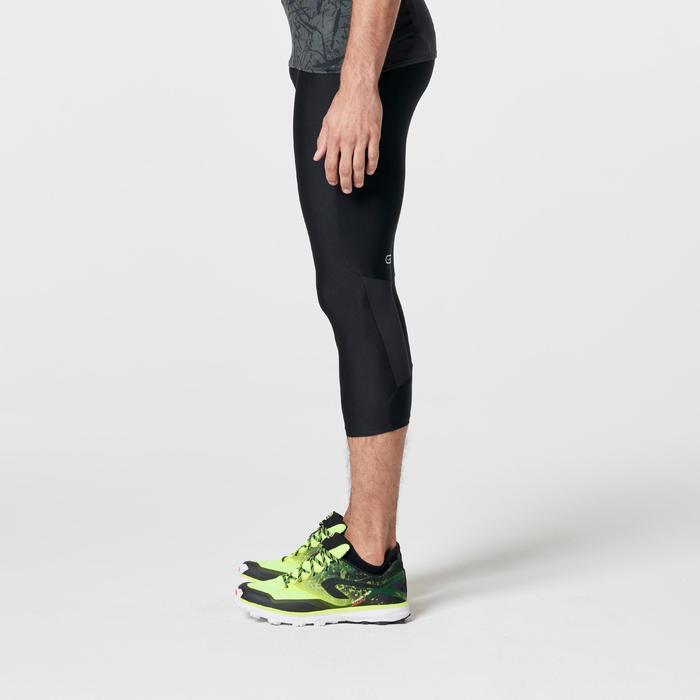 Corsaire trail running noir jaune homme - 1262655