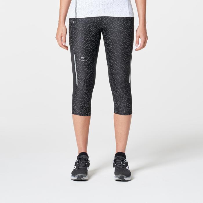 Kuitbroek jogging dames Run Dry+ Reflect zwart