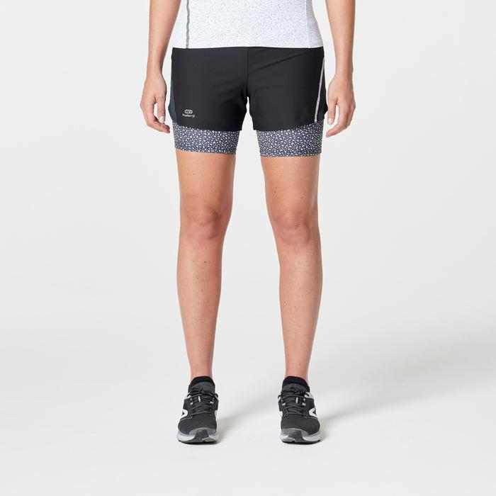SHORT JOGGING FEMME RUN DRY+ 2 IN 1 - 1262676