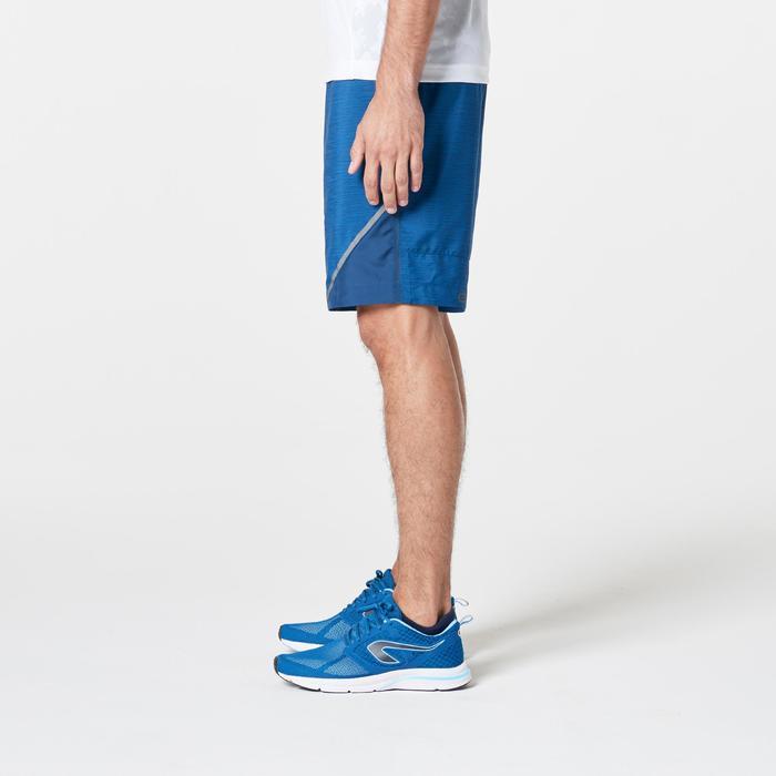 男款跑步短褲RUN DRY+ - 藍色