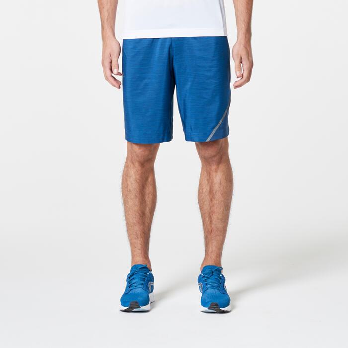 Loopshort voor heren Run Dry+ blauw