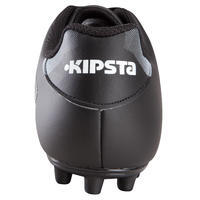 Agility 300 FG Adult Firm Pitch Football Boots - Black