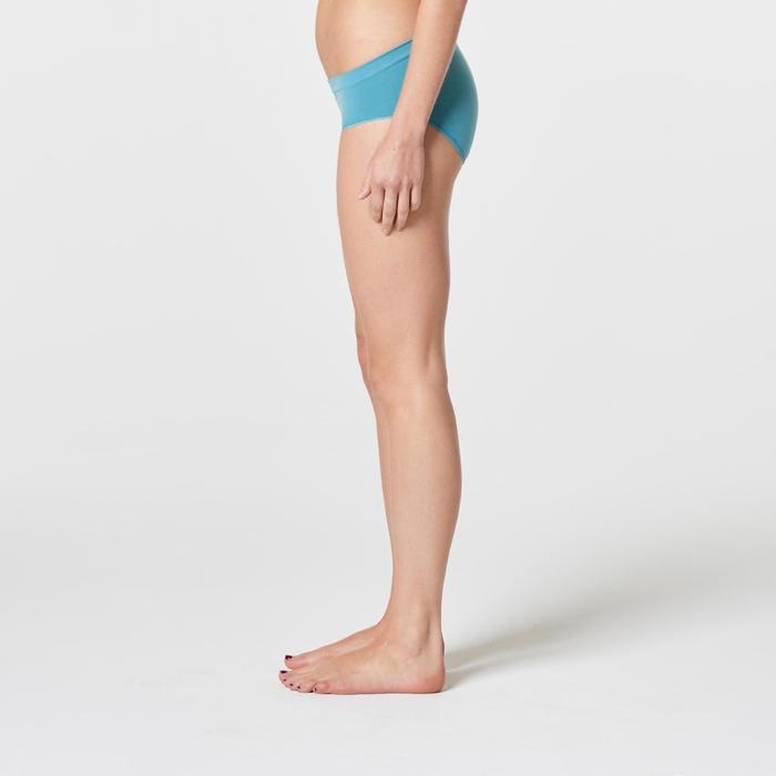 Sportunterhose atmungsaktiv Laufen Damen türkis