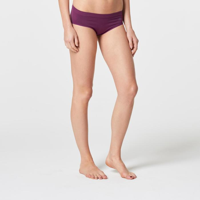 Culotte respirante violet running femme