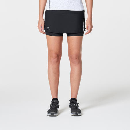 RUN DRY+ 2 IN 1 WOMEN'S RUNNING SKIRT