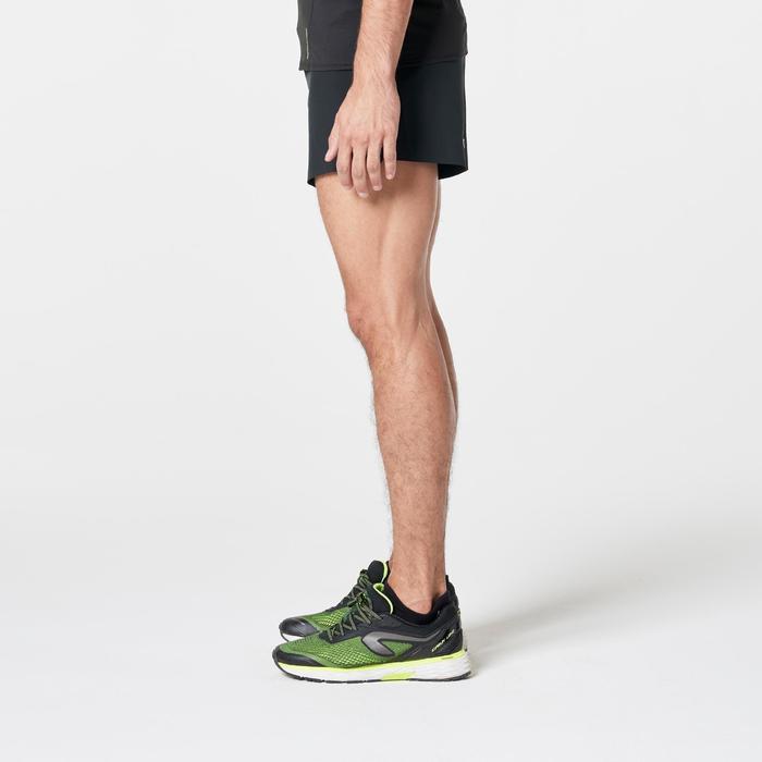 Pantalon Corto Deportivo Running Kalenji Kiprun Light+ Hombre Negro