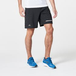 RUN DRY + MEN'S RUNNING SHORTS - BLACK/PRINT