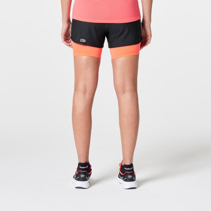 SHORT JOGGING FEMME RUN DRY+ 2 IN 1 - 1262823