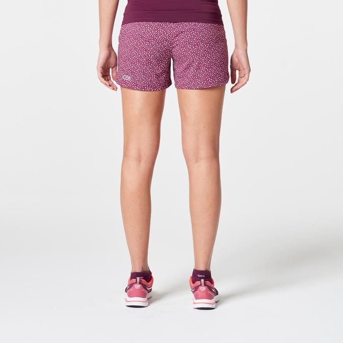 Joggingshort voor dames Run Dry print roze