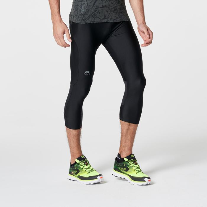 Corsaire trail running noir jaune homme