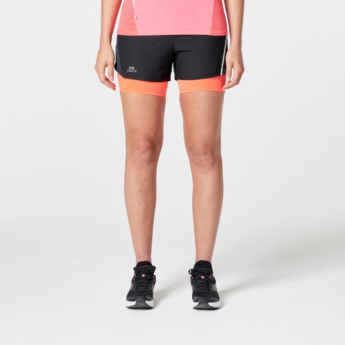 SHORT JOGGING FEMME RUN DRY+ 2 IN 1 - 1262864