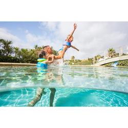 Zwemvest SWIMVEST+ blauw roze (15-25 kg)