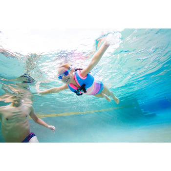 Gilet de natation SWIMVEST+ bleu-rose