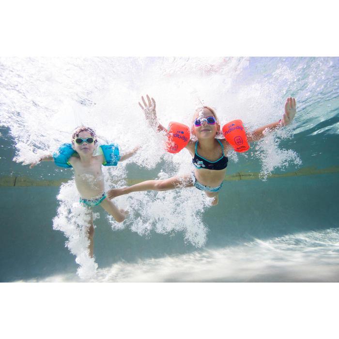 Brassards natation roses en mousse - 1262891