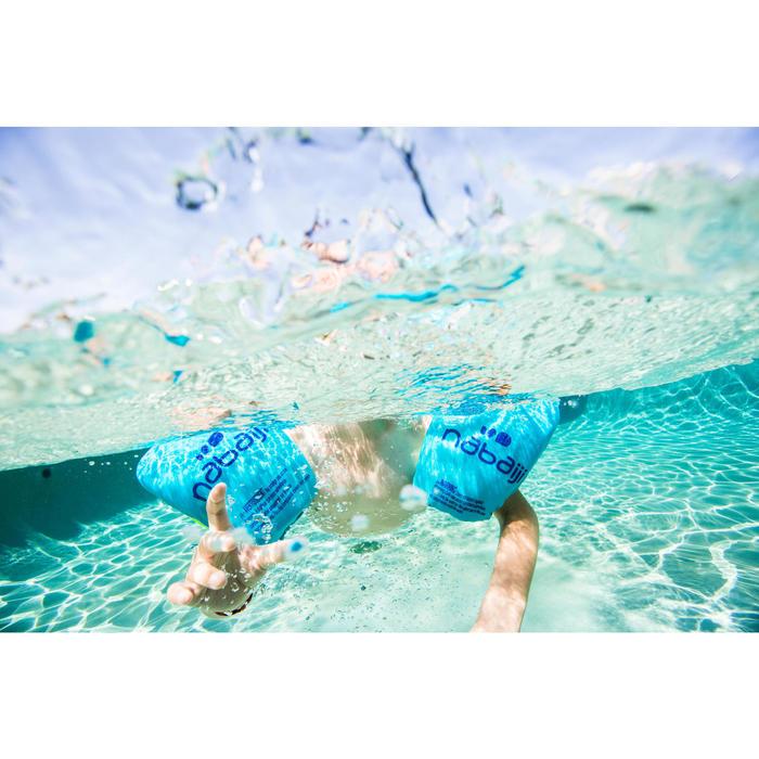 Brassards natation roses en mousse - 1262902