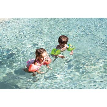 Brassards natation roses en mousse - 1262908