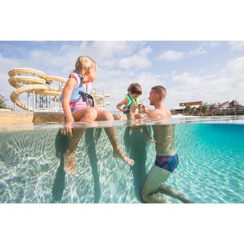 Gilet de natation SWIMVEST+ bleu-rose - 1262909