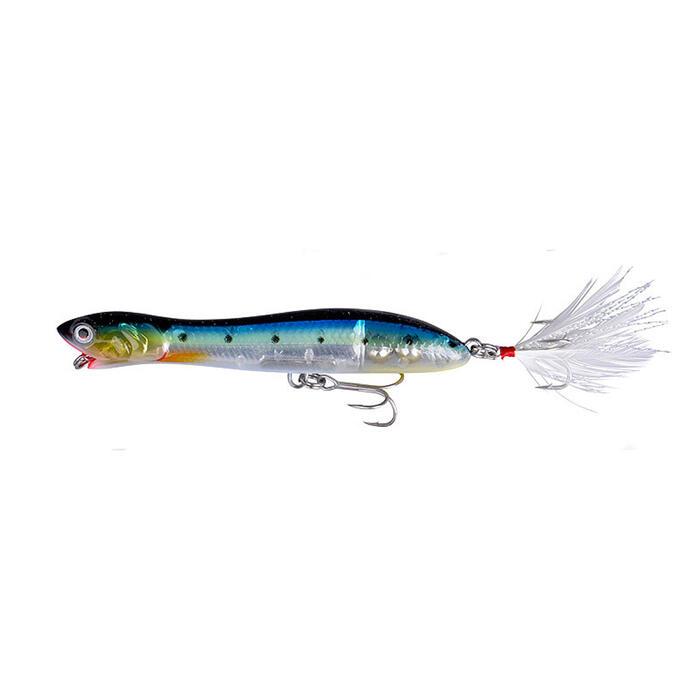 Oppervlakte kunstaas Panic Prey 135 28 g sardine voor zeehengelen