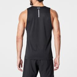 RUN DRY MEN'S RUNNING TANK TOP BLACK
