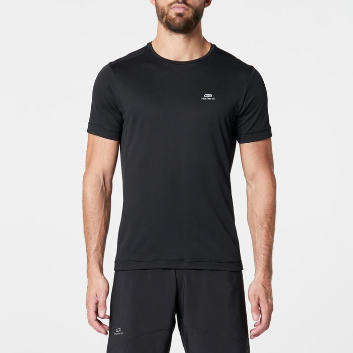 Loopshirt voor heren Run Dry zwart