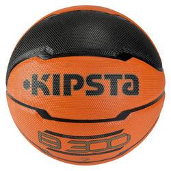 Basketbal B300 maat 7 oranje/zwart