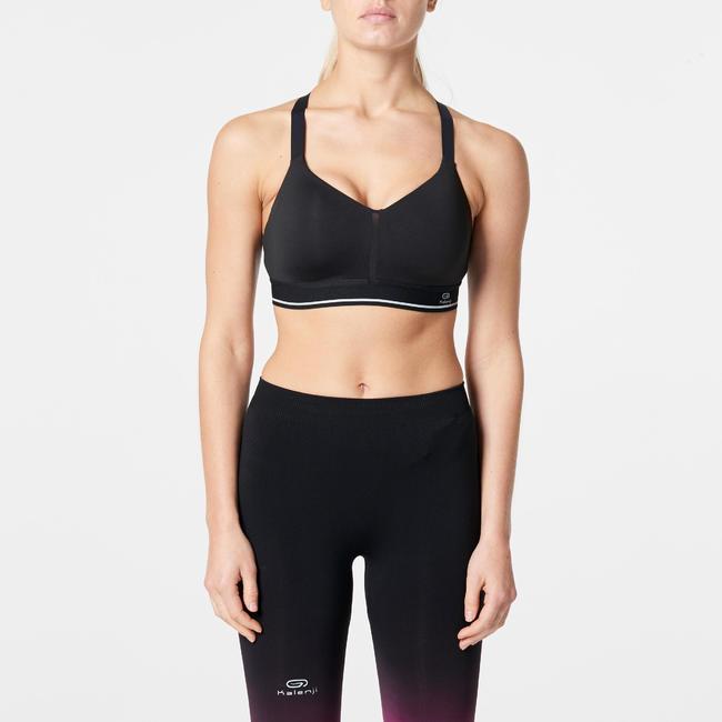 Sportance Comfort Running Bra - Black