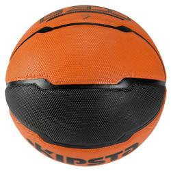 Basketbal B300 maat 7 oranje/zwart - 126305