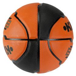 Basketbal B300 maat 7 oranje/zwart - 126307