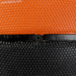 Basketbal B300 maat 7 oranje/zwart - 126309