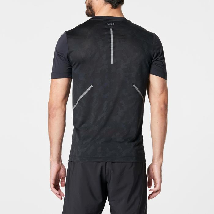 T SHIRT RUNNING HOMME RUN DRY+ BREATH NOIR